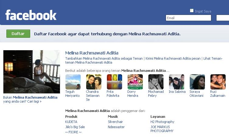 Meliana Facebook