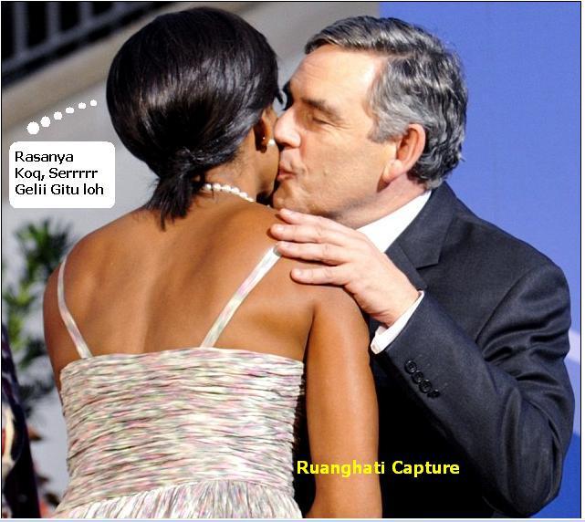 Romantika para pasangan pemimpin dunia bila bertemu