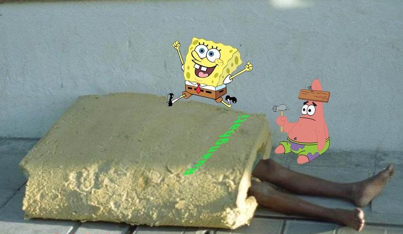 Cara membedakan Spongebob asli dan yang buatan