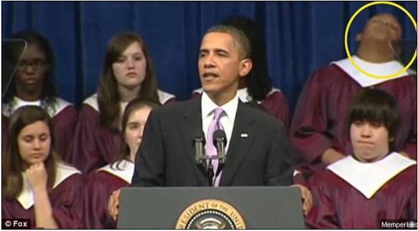 Tidak seperti ketika Obama Kampanye, Sekarang Pidatonya membuat hadirin tertidur