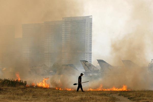 Russia Heat Wave
